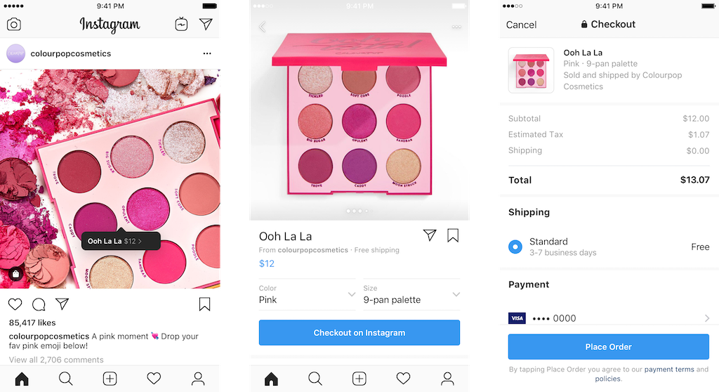 Instagram Lets Brands Sell Products Directly Through the App
